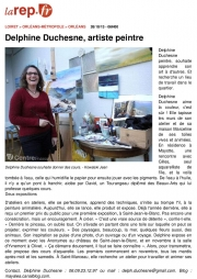 Article La République du Centre - Octobre 2013